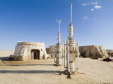 Star Wars Set  Chott El Gharsa  Tunisia  North Africa  Africa