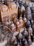Lanterns  Place Des Ferblantiers (Ironmongers Square)  Marrakech  Morocco  North Africa  Africa