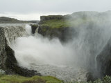 Dettifoss  Said to be the Most Powerful Falls in Europe  Jokulsargljufur National Park  Iceland