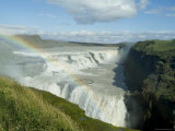 Gullfoss (Golden Falls)  Iceland  Polar Regions