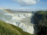 Gullfoss (Golden Falls)  Iceland  Polar Regions