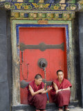 Tashilumpo Monastery  the Residence of the Chinese Appointed Panchat Lama  Tibet  China