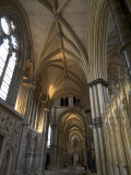 Interior  Lincoln Cathedral  Lincoln  Lincolnshire  England  United Kingdom