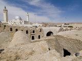 Berber Grain Storage Units  Recent Site of Star Wars Film  Now a Hotel  Ksar Hedada  Tunisia