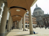 Paternoster Square  Near St Paul's Cathedral  the City  London  England  United Kingdom
