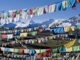 Prayer Flags  Himalayas  Tibet  China