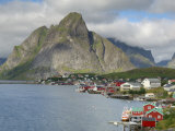 Reine  Moskenesoya  Lofoten Islands  Norway  Scandinavia