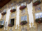 Decorated Buildings  Mittenwald  Bavaria (Bayern)  Germany