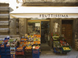 Grocery Store  Cortona  Tuscany  Italy  Euope