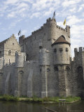 The Castle  Gravensteen  Ghent  Belgium