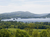 Lake Windermere  Lake District National Park  Cumbria  England  United Kingdom