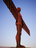 The Angel of the North  Newcastle Upon Tyne  Tyne and Wear  England  United Kingdom