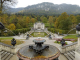 Schloss Linderhof  Between Fussen and Garmisch-Partenkirchen  Bavaria (Bayern)  Germany