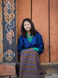 Bhutanese Woman  Jankar  Bumthang  Bhutan