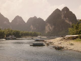 Li River Near Yangshuo  Guilin  Guangxi Province  China