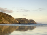 Minaun Cliffs from Keel Beach  Achill Island  County Mayo  Connacht  Republic of Ireland