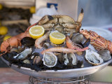 Seafood  Nice  Alpes Maritimes  Provence  Cote d'Azur  French Riviera  France