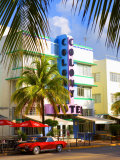 Ocean Drive  South Beach  Miami Beach  Florida  USA