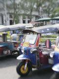 Tuk Tuks  Bangkok  Thailand  Southeast Asia