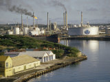 Oil Refinery  Willemstad  Curacao  West Indies  Central America