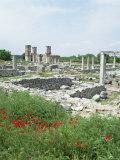 Town Built for Octavia Over the Assassins of Julius Caesar in 42 Bc  Philippi (Filipi)  Greece