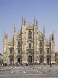 Milan Cathedral  Milan  Lombardia  Italy
