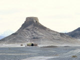 Zoroastrian Tower of Silence  Yazd  Iran  Middle East