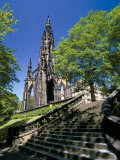 Scott Monument  Edinburgh  Lothian  Scotland  United Kingdom