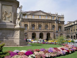La Scala  Milan  Lombardy  Italy