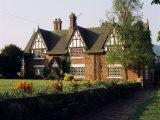 Typical Cheshire Farmhouse  Beeston  Cheshire  England  United Kingdom