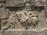 Valerian Before Shahpur  241 to 272 AD  Naqsh-E Rustam  Iran  Middle East