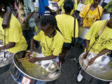 Steel Band Festival  Point Fortin  Trinidad  West Indies  Caribbean  Central America