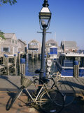 Bicycles  Nantucket  Massachusetts  New England  USA