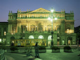 La Scala Opera House  Milan  Lombardia  Italy