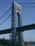 George Washington Bridge  New York  USA