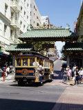 Chinatown  San Francisco  California  USA