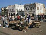 Outdoor Bazaar Scene  Djibouti City  Djibouti  Africa