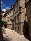 Narrow Street  Sarlat  Dordogne  Aquitaine  France