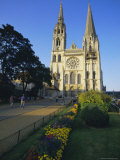 Chartres Cathedral  Unesco World Heritage Site  Chartres  Centre  France