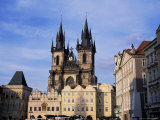 Tyn Church  Prague  Czech Republic