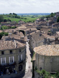 View of the Town  St Emilion  Gironde  Aquitaine  France
