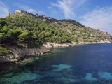 Ruins of 16th Century Venetian Castle Above the Coast  Assos  Cephalonia  Ionian Islands  Greece