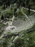 The Theatre  Delphi  Unesco World Heritage Site  Greece