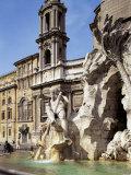 Piazza Navona  Rome  Lazio  Italy