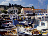 Boats in Fiscardo Harbour  Cephalonia (Kefallinia)  Ionian Islands  Greece