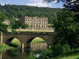 Chatsworth House  Derbyshire  England  United Kingdom
