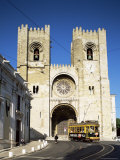 The Romanesque Style Se (Cathedral)  Lisbon  Portugal