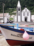 Santa Cruz Church  Ribeiras  Island of Pico  Azores  Portugal  Atlantic