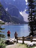 Lake Moraine  Alberta  Rockies  Canada