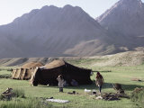 Nomad Tents  Lar Valley  Iran  Middle East